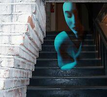 Ghost of Pain - Self Portrait by Jaeda DeWalt