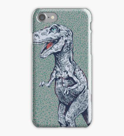 hungry rex iPhone Case/Skin