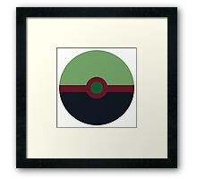 Gamora Ball Framed Print