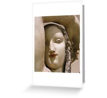 Face of... Greeting Card