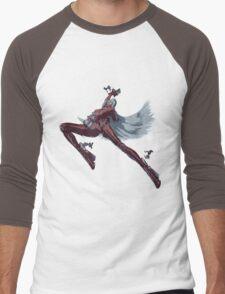 Minimalist Jeanne Men's Baseball ¾ T-Shirt