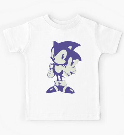 Minimalist Sonic Kids Tee