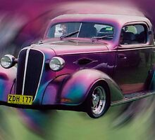 Harlequin Hot Rod by Brebe
