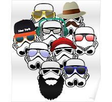 Stormtroopers Vacation Poster