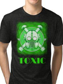Toxic Gasmask Tri-blend T-Shirt