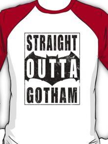 Straight Outta Gotham (Black) T-Shirt