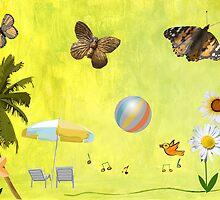 Summer Garden by AngelinaLucia10