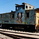 Deserted Trolly Car by AngryGoldfish