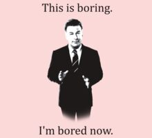Jack Donaghy is bored now. Kids Clothes