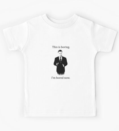 Jack Donaghy is bored now. Kids Tee