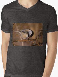 Black Capped Chickadee - Mud Lake, Ottawa, Ontario Mens V-Neck T-Shirt