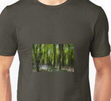 Mystical Bluebell Wood Unisex T-Shirt