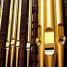 Tabernacle Organ Pipes by Dana Roper
