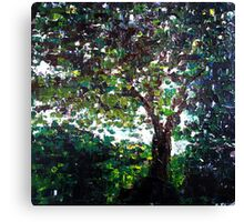Tree of life, nature landscape Canvas Print