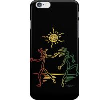 Rasta Sun Dancers iPhone Case/Skin