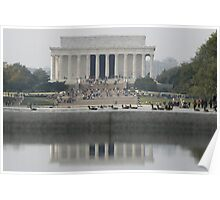the Lincoln Memorial Poster