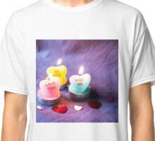 Heart Candles Classic T-Shirt