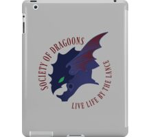 By The Lance iPad Case/Skin