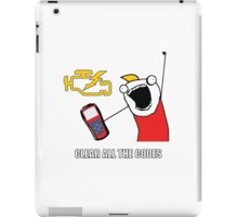 Clear All The Codes iPad Case/Skin