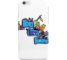 Love Love Drav Dooddle iPhone Case/Skin