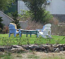 adirondack chairs by Maureen Zaharie