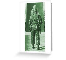 Army Green Greeting Card