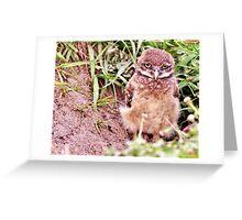 Sad Eyes Greeting Card