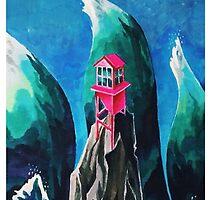 rose house by galinarachko