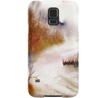 Landscape..Winter Walk Samsung Galaxy Case/Skin