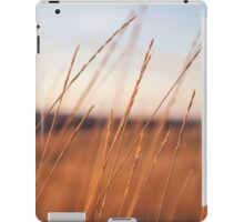 Scenic Photo of Wheat Field iPad Case/Skin