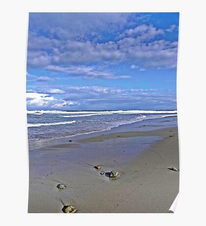 Old Bar beach Poster