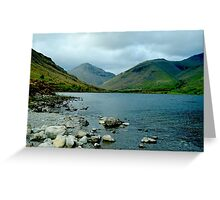 Lake distrcit national park Greeting Card