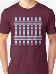 Blue And Red Plaid Unisex T-Shirt