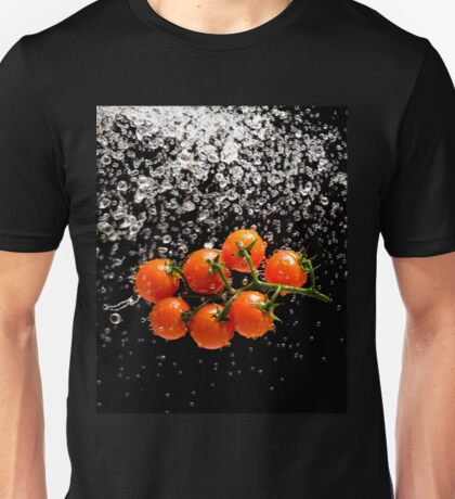Cherry Tomato Splash 1 Unisex T-Shirt