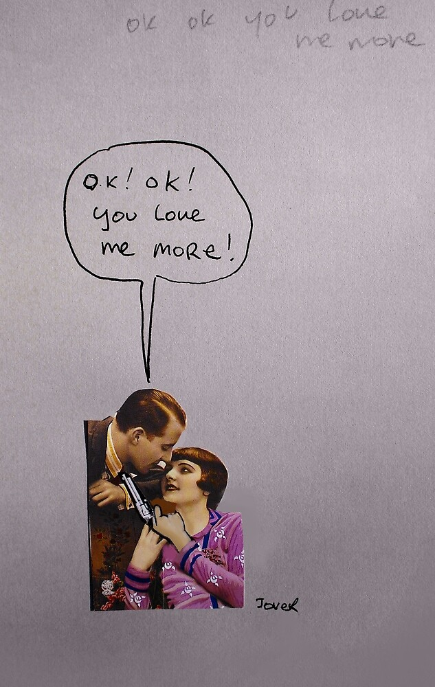 i love you more..... by Loui  Jover