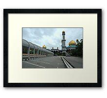 omar ali masjid Framed Print
