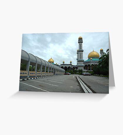 omar ali masjid Greeting Card