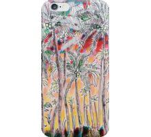 palm sunset iPhone Case/Skin