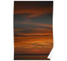 """Untitled Sunset"" Santa Marta, Colombia Poster"