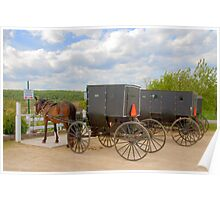 Horse & Buggy Parking Only  Poster