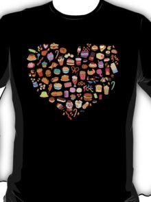 Cute Pixel Junk Food T-Shirt