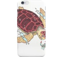 Loggerhead Sea Turtle iPhone Case/Skin