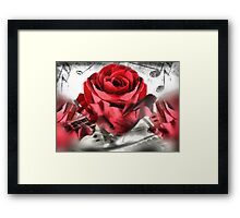 Sing Me A Love Song Framed Print