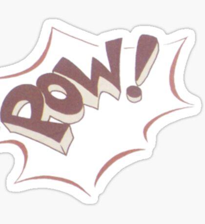 Pow! Sticker