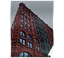 Puck Building Poster