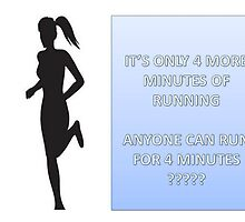 4 minutes of running by David Duggan