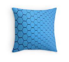 Blue Honey Throw Pillow