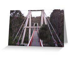 The Bridge of Kane Greeting Card