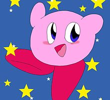 Starry Kirby by CuriKnight5