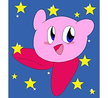 Starry Kirby Photographic Print